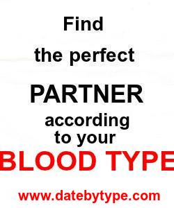 Blood type dating site